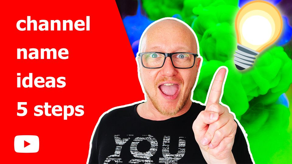 How to make a youtube video title