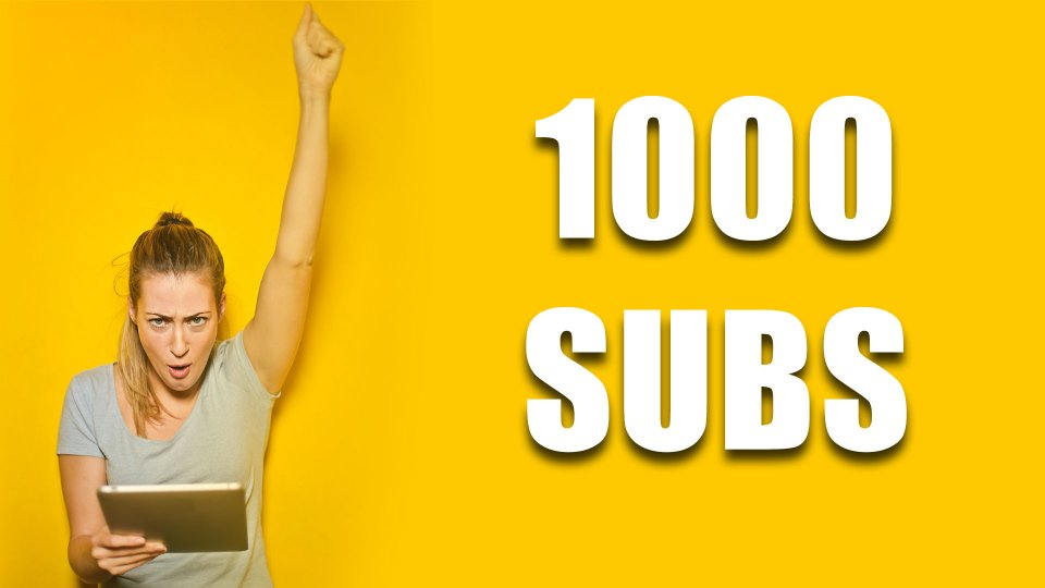 How long does it take to get 1000 subscribers on YouTube