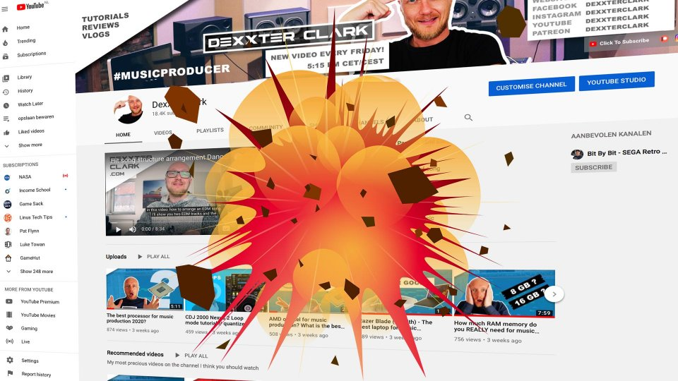 How to grow on YouTube - 12 ways to destroy your channel