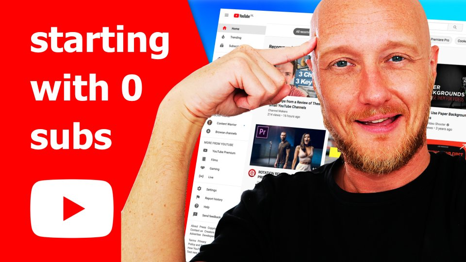 Start a youtube channel COMPLETE beginners guide 2021
