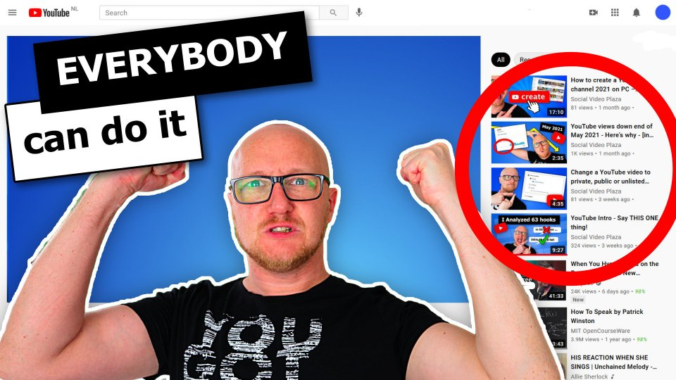 How to trigger YouTube Suggested videos algorithm