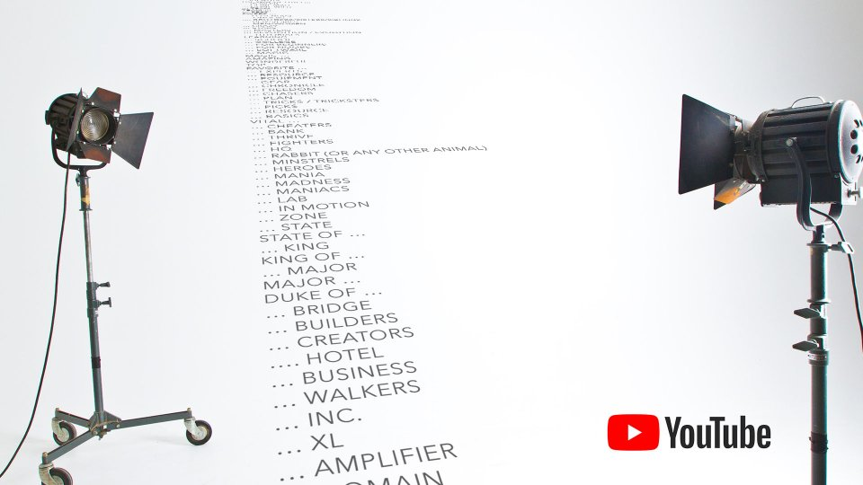 Best YouTube channel name ideas 2020 (+ lists)